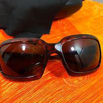 Prada Havana Brown Tortoise Shell Sunglasses Unisex Spr01h Photo