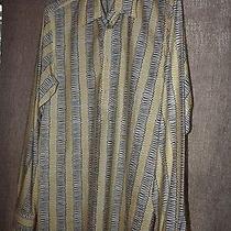 Prada Italy Men's Yellow Long Sleeve Shirt - Rare - Unique - 43/17 Photo