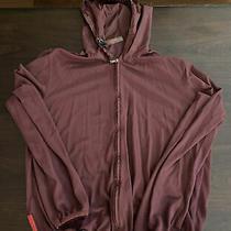 Prada Jogging Jacket Lightweight Thin Material Zips Size Large Fits Like Small Photo