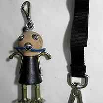 Prada Johnny Robot Keychain & Sally Robot Keychain or Necklace Nib Photo
