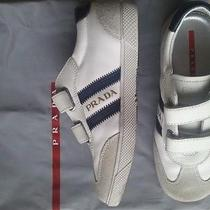 Prada Kids Sneaker Shoes Leather Canvas  Beautiful  Photo