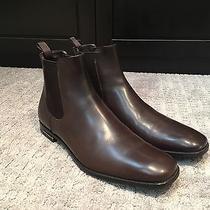 Prada Leather Boots - Brown Photo