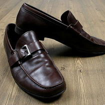 Prada Leather Shoes Loafers for Men Tag Size 8 Photo