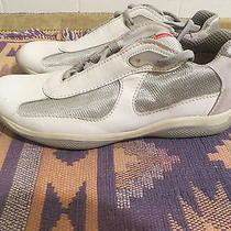Prada Man Shoe 9 White Leather Photo