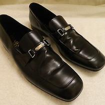Prada. Mens Dress Shoes. Size 9.5. Black.  Photo