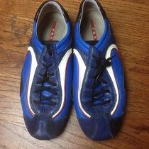 Prada Mens Shoes 9 Blue Photo