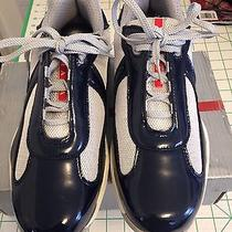 Prada Mens Vernicebike America's Cup Leather Prada Size 9 Photo