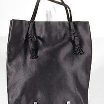 Prada Milano Italian Black Silk Satin Handbag Evening Bag Tv Photo