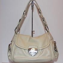 Prada Off White Leather Shoulder Bag Photo