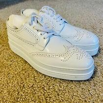 Prada Oxford Platform Sneaker Eur Size 38 Photo