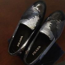 Prada Paillettes Camo Sequin Slipper Photo