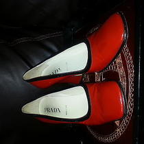 Prada Patent Shoes in Amazing Red Photo