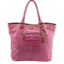 Prada Pink Leather Tote Photo