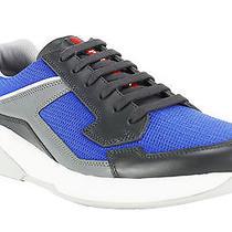 Prada Plume Bike Grey Men's Shoes Size 7.5 Photo