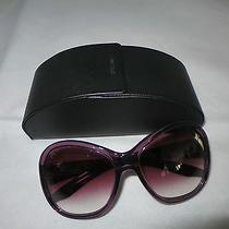 Prada Purple Butterfly Sunglasses Photo