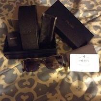 Prada Purple Wayfarer Sunglasses Photo