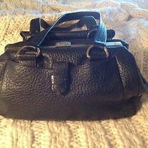 Prada Purse/black Leather Original Photo