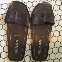 Prada Sandals Womens Brown Sandals Size 39 Italian. ( 9 American ) Photo