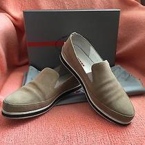 Prada Sandstone Athletic Shoes Photo