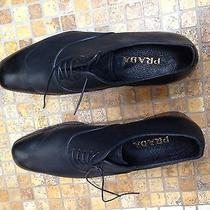 Prada Shoe Black Oxford Size 11 D  Photo