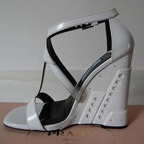 Prada Shoes 2014 Collection Exclusive Authentic Prada Women Shoes Heels White 37 Photo