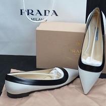 Prada Shoes Ballet Flats 1f247e Spazzolato Eu39 us8.5 667 Pointed Photo