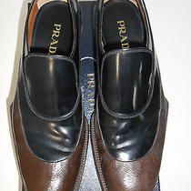Prada Shoes Men's Luxury Authentic Prada Shoe Runway Fall 2012 Fabulous Cacao 9 Photo