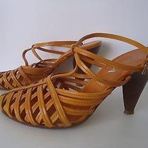 Prada Shoes Orange Photo