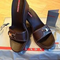 Prada Shoes Size 7 1/2 M Photo