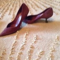 Prada Shoes  Size 7 Italy Suede Purple Photo