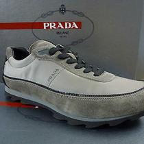 Prada Shoes Sneakers Sport Elegant Trendy 4e2094 Brown Us 9.5  Sand Khaki Photo