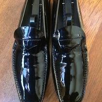 Prada Shoes Worn 3x's Black Patent Leather Size 39.5 Make a Reasonable Offer Photo