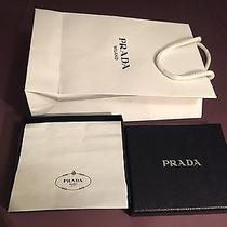 Prada Slim Men Wallet Gift Box With Gift Bag Photo