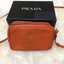 Prada Small Cross Body (Orange Daino Leather) Photo