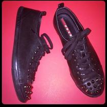 Prada Spiked Low Top Sneakers 38.5 Photo