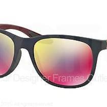 Prada Sport Sunglasses Ps 03os Ubx9q1 Shot Grey Rubber 55mm Photo
