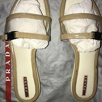 Prada Sport Womens Flats Size  39 Italy Preowned Authentic Photo