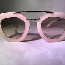 Prada Spr 27o Sunglasses Kal-1z1 Transparent Brown 54-19-135 Case With No Logo Photo