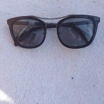 Prada Spr17q Sunglasses. Black Photo