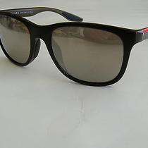 Prada Sps 03o Nas 1c0 Mirrored Wayfarer Style Sunglasses 55 18 140 Photo