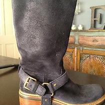 Prada Suede Boots Photo