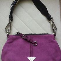 Prada Suede Shoulder Bag Photo