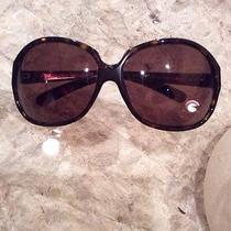 Prada Sunglasses Authentic 100% Brown Photo