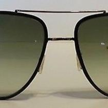 Prada Sunglasses - Black and Gold - Wide Photo