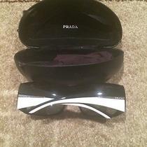 Prada Sunglasses Black and White  Photo