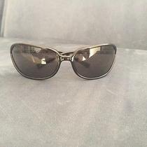 Prada Sunglasses Black Spr 05e With Original Prada Hard Case Photo