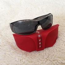 Prada Sunglasses Grey on Grey Sps05f Photo