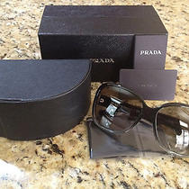Prada Sunglasses Grey Spr27m  Photo