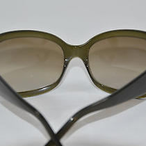 Prada Sunglasses in Dark Green Shade on Sale Photo