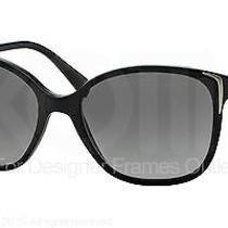 Prada Sunglasses Pr 01os 1ab3m1 Black 55mm Photo